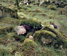 """Karoline Hjorth & Riitta Ikonen   """"Eyes as Big as Plates presents Pohjois-Karjala seniors through references of familiar characters and protagonists of Finnish folklore, infused with the participating local seniors' own stories and personal relationship to folklore, myths and imagination."""" Torleif"""