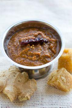 50 recipes in 2012: #23 : Red Allam Pachadi ~ Ginger Chutney