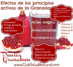 La Granada Efectos en la Salud - Club Salud Natural