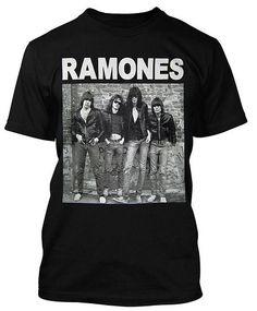 Pánske tričko Ramones - Band Shot