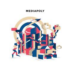 Mediapoly Vector Illustration