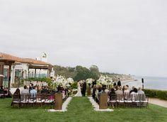 Santa Barbara's Bacara Resort & Spa. Photos:Tanya Lippert Photography. Florals: Adorations Botanical Artistry.