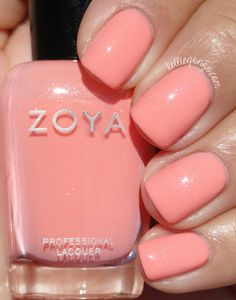 Zoya Nail Polish in Laurel from the Petals Collection Spring 2016 Spring Nail Colors, Nail Designs Spring, Spring Nails, Summer Nails, Nail Polish Designs, Cool Nail Designs, Nail Polish Colors, Art Designs, Nail Polishes