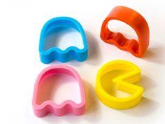 Pac-Man Cookie Cutters - hap-hap-hap-hap