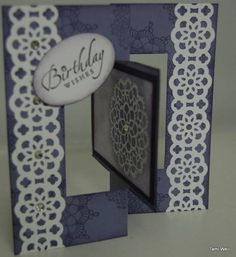 Swing fold card by stampintam - Cards and Paper Crafts at Splitcoaststampers