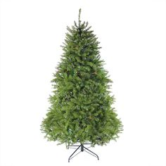 12' Pre-lit Northern Pine Full Artificial Christmas Tree - Multi-Color LED Lights