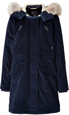 Rainbow Corded Twill Coat in Ink Blue - Lyst