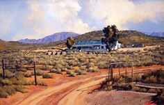 Ted Hoefsloot – Landsapes (various) (SOLD) South African Artists, Old Farm Houses, Venice, Holland, Art Gallery, Country Roads, Drawings, Landscapes, Paintings