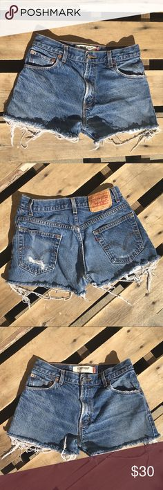 517 for life Wear these DIY Levi's 517 denim shorts to a music festival!    thanks for visiting my closet ☺️ build a bundle | make an offer ✨ inhabitable ✨ Levi's Shorts Jean Shorts