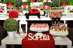 Photo 20 of 20: Ladybugs / Birthday Sophias 1st Birthday   Catch My Party