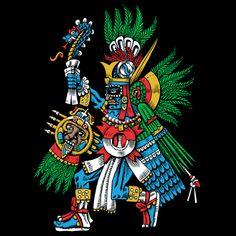 Huitzilopochtli Colors - NeatoShop