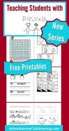 Teach Your Child to Read - Free Dyslexia Reading Printables - Give Your Child a Head Start, and.Pave the Way for a Bright, Successful Future. Dyslexia Activities, Dyslexia Strategies, Dyslexia Teaching, Learning Disabilities, Teaching Strategies, Student Teaching, Teaching Reading, Teaching Kids, Teaching Resources