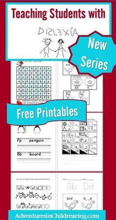 Free Dyslexia Reading Printables