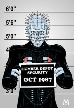 Usual Suspect - Pinhead by b-maze on DeviantArt