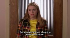 Image about Clueless in My uploads by Yoni 🖤 on We Heart It Clueless Quotes, Clueless 1995, Clueless Outfits, Teen Movies, Iconic Movies, Old Movies, Movie Tv, Series Quotes, Film Quotes