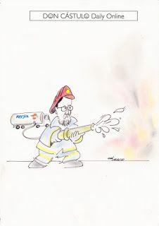 Don Cástulo: Mas incendia, Rajoy apaga