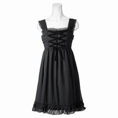 Absolutely adore this lolita dress its just so sweet and the frills are so cute but not overdone