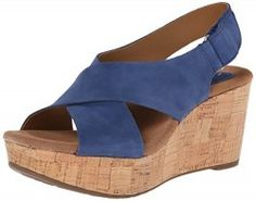 Clarks Caslynn Shae Wedge Sandal