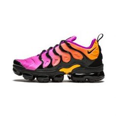 f21fbaa73a Bright Luster Nike W Air Vapormax Plus TN Sherbet Black Fuchsia Blast  AQ4550 004 Women's Running Shoes Sneakers