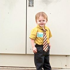 Dwight Schrute kid costume! ha!