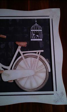 Mi bicicleta hecha en taller de Artis Santander - Detalle rueda trasera
