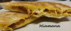 Mhadjeb au thon et au fromage - Une débutante en cuisine!