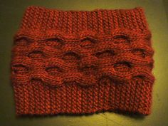 Ravelry: Ericaceae Cowl pattern by Emily Mi Young