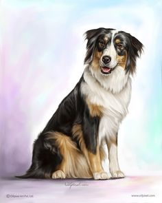 Pet digital portrait painting on canvas by oilpixel art pvt. Custom Dog Portraits, Portraits From Photos, Pet Portraits, Digital Portrait, Oil Portrait, Animal Paintings, Animal Drawings, Dog Art, Bernese Mountain