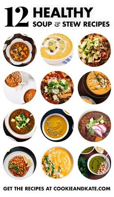 Find 12 healthy, filling vegetarian soup recipes at cookieandkate.com.