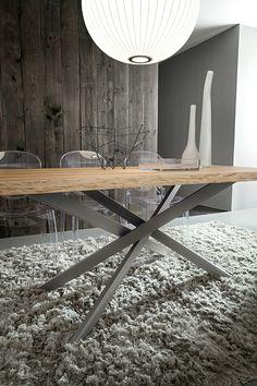 Modern olasz asztal Renzo - www.montegrappamoblili.hu
