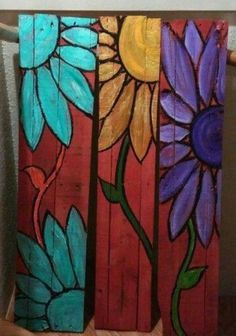 Picassos Palette Painting pARTy-painting on wood pallets