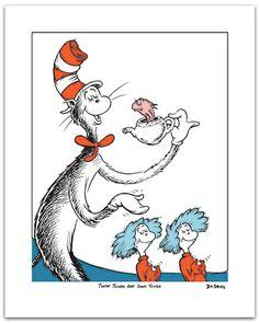 Dr. Seuss Cake Clip Art | Dr. Seuss | Illustration Art Collection