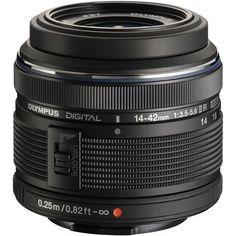 Olympus - M.Zuiko 14-42mm f/3.5-5.6 II R Lens (Black) [Owned]