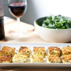 Appetizer Recipe: Herbed Goat Cheese Polenta Bites Recipes From the Kitchn | The Kitchn
