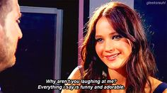 i just so want to be friends with jennifer lawrence.