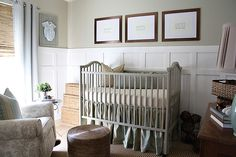 Parker's Nursery, Gender Neutral, Classic, Natural Textures, Board and Batten