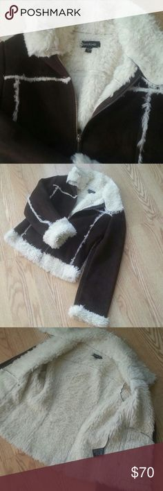 Brown bebe very , very soft  jacket,, New, no tag, never worn, size xs,, Jackets & Coats