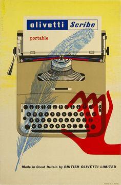 Olivetti Scribe - typewriter