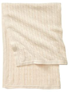 Gap Favorite Cable Baby Blanket