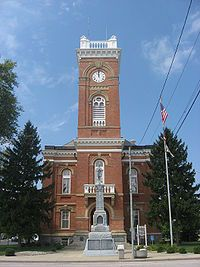 Fulton County Courthouse in Wauseon, Photo courtesy of en.wikepedia.org