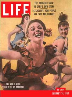 Life Magazine Cover Copyright 1957 Broadways Lil Abner - Mad Men Art: The…