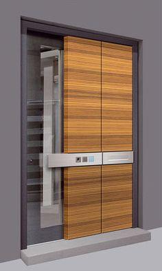 Contemporary Entry Door by Keratuer