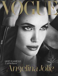 Vogue Turkiye March 2012 Angelina by Mert & Marcus