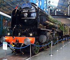 "The ""Tornado"" is a modern English steam locomotive built in 2008 and the first steam locomotive built in England since - xxDxx Flying Scotsman, Steam Boiler, National Railway Museum, Steam Railway, Train Art, Rail Car, British Rail, Old Trains, Train Pictures"