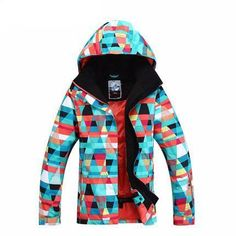60f06fd8a Outerwear Type: Jackets Sport Type: Skiing Gender: Women Brand Name: Gsou  Snow