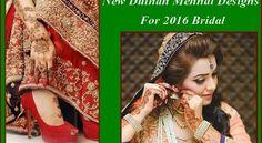 New Dulhan Mehndi Designs For 2016 Bridal