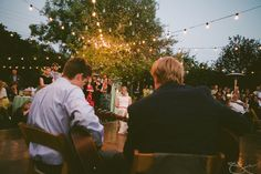 Beautiful reception site with lots of DYI elements.    Photo:  Stone Crandall