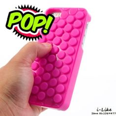PoP Sound Bubble Wrap Phone Case Shell for iPhone...Reduce Stress! Makes a Great Gift! Compatible iPhone Model: iPhone 6s,iPhone 6,iPhone 5s,iPhone SE,iPhone 5 Function: Anti-knock Compatible Brand: Apple iPhones Type: Case Feature: subtle POP dsign Feature 1: interesting gadget Style: funny 3D PoP design User: Unisex Model Number: For iPhone SE Everybody wants FREE Shipping. Griffin Gizmo offers FREE Shipping Worldwide to all our customers to show our appreciation for you Patronage. Insured…