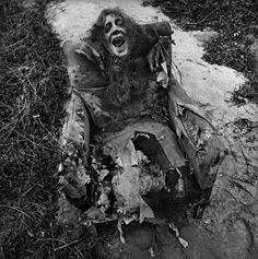 photographer Arthur Tress, who, in the late 1960's and early '70's, asked children to describe their fantasies and nightmares, then immortalizing them in staged photographs. - Yeah, it's yucky.  But it's a typical night for me.