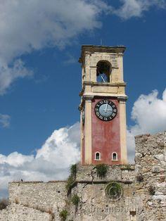 Clock Tower Corfu Photography Digital JPG Download on Etsy, $3.50